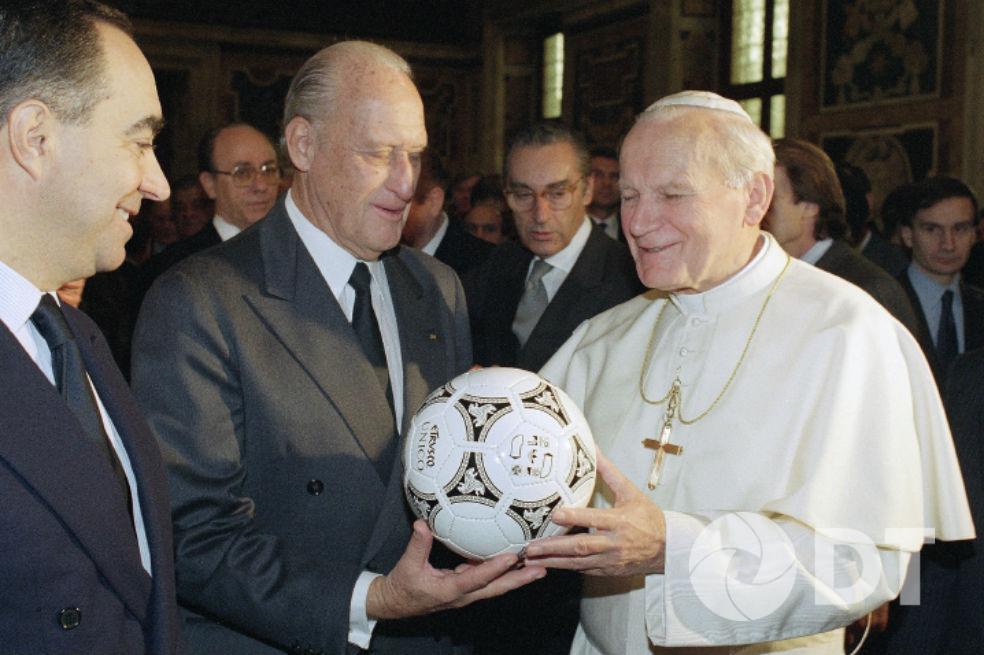 A 100 Años Del Nacimiento De Juan Pablo Ii El Papa Futbolista Deporte Total
